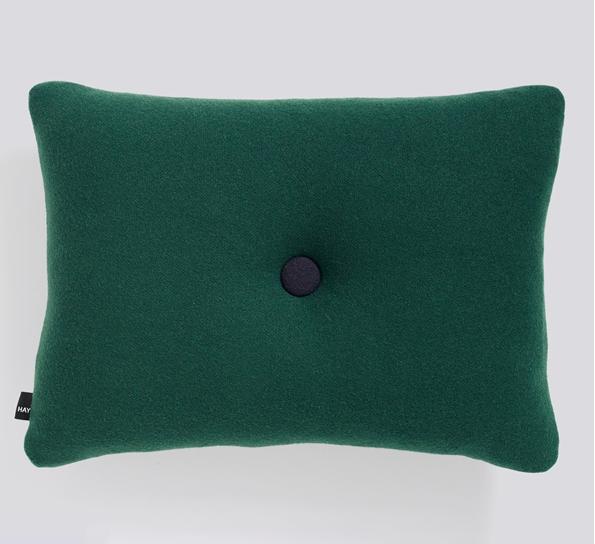 Oppdatert Dot Tonus pute mørk grønn MT-94