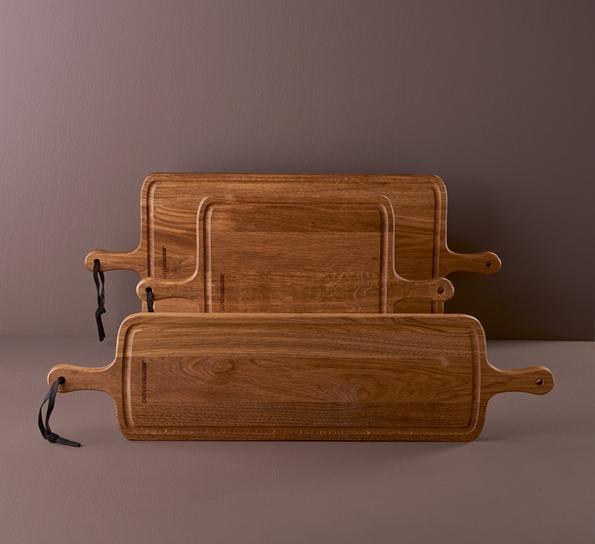 Stor BBQ Bread Board XL 19x78 cm røkt eik SH-78