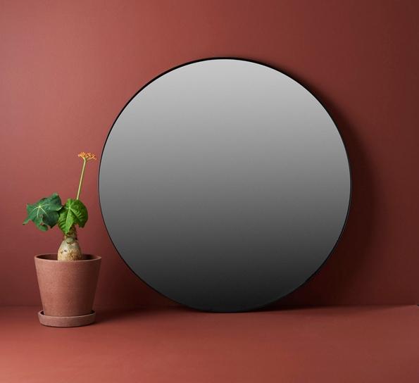 Ypperlig Circum speil 70 cm sort/sort MX-27