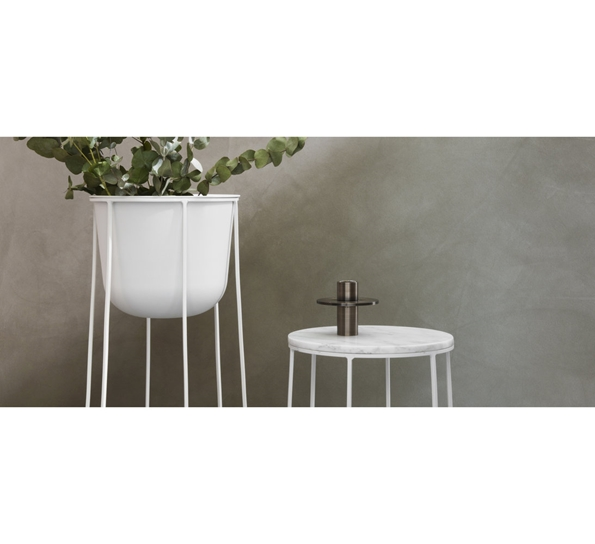 Storslått Wire Top bordplate hvit marmor JQ-24