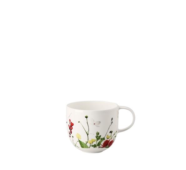 5fc70484 Brillance Fleurs Sauvages kaffekopp - vakre villblomster på hvitt porselen