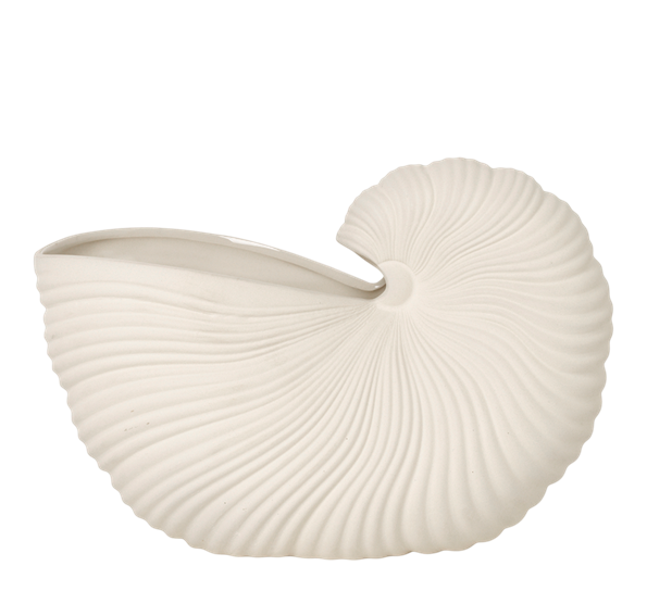 Shell pot offwhite Ferm Living