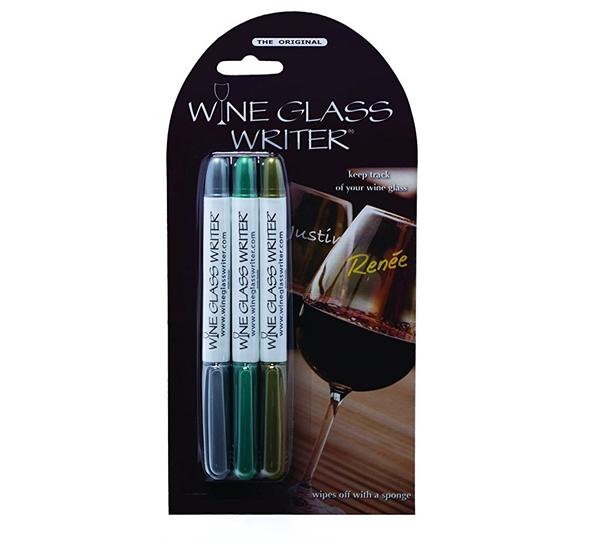 Wine Glass Writer markør 3-pk