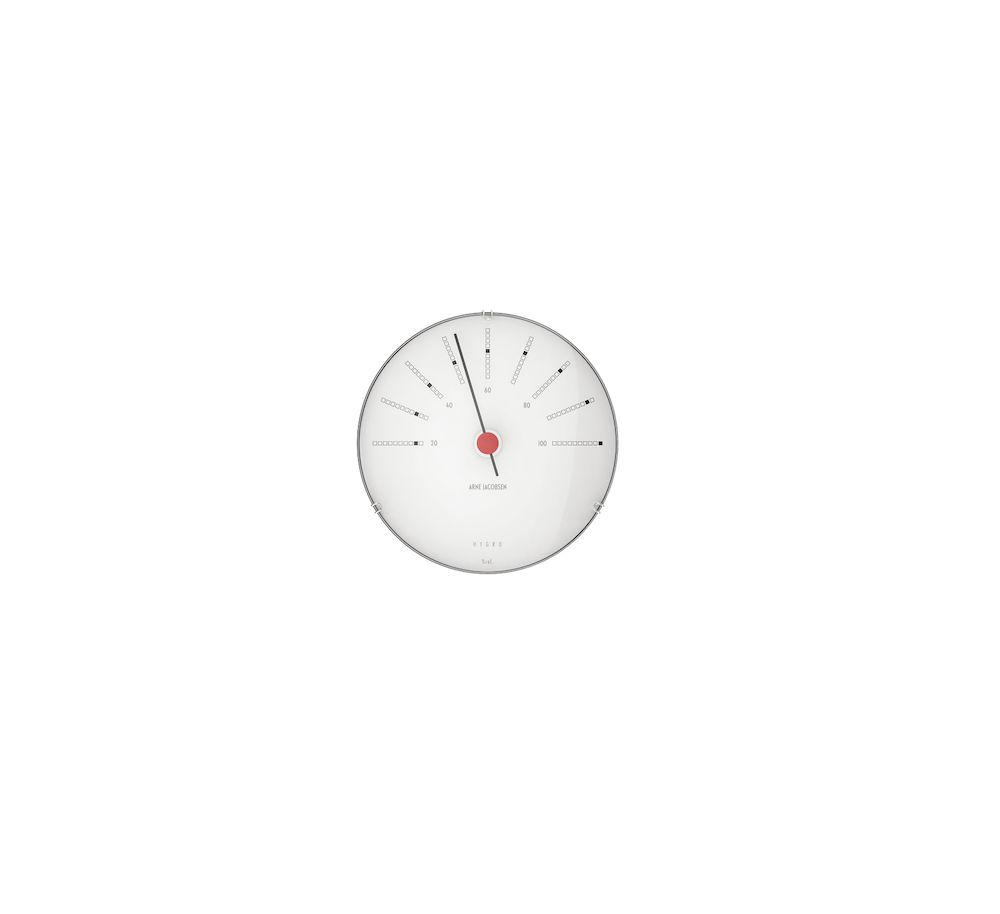 Arne Jacobsen Bankers hygrometer 12 cm Arne Jacobsen Klokker