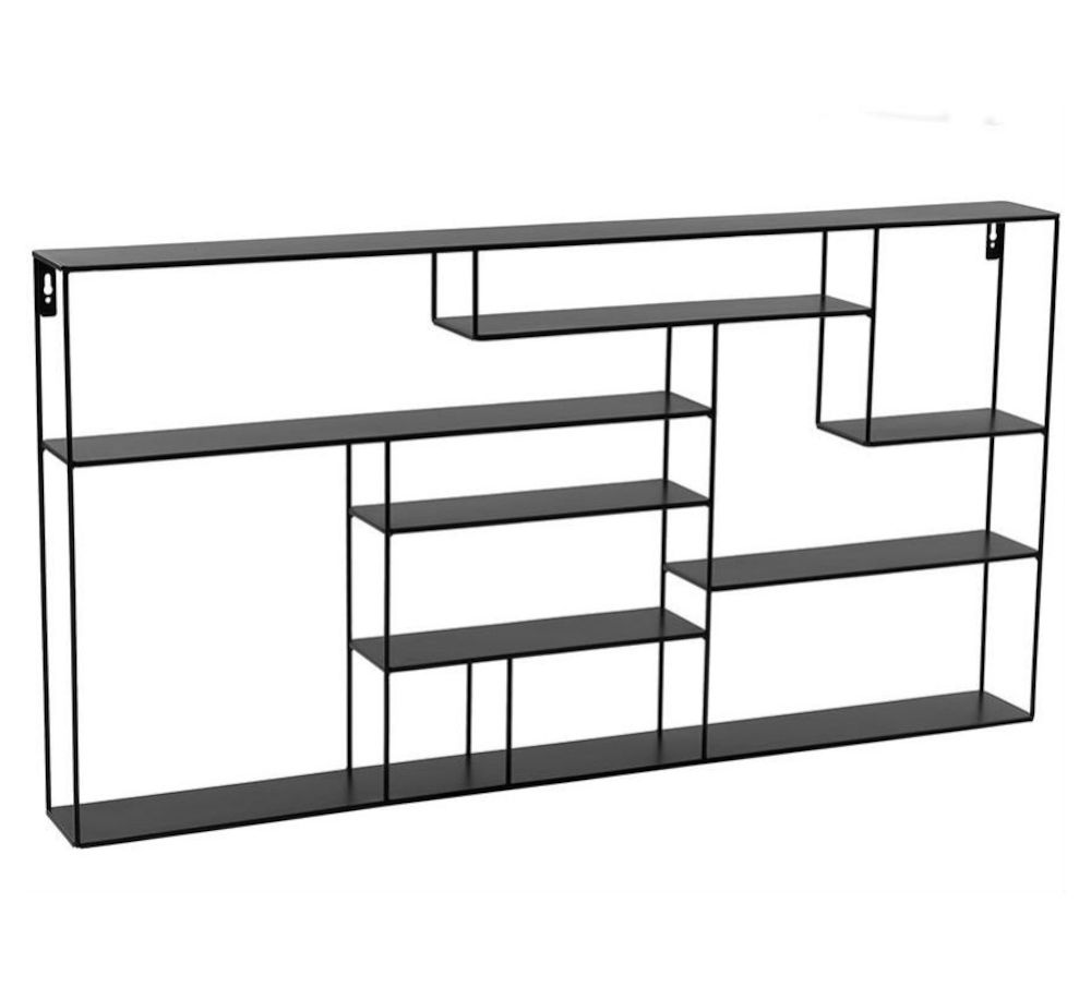 Labyrint hylle bred 60x118 cm sort Bruka Design