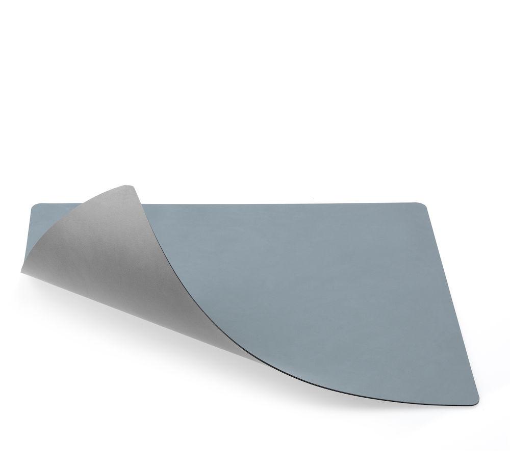 Spisebrikke tosidig Nupo lysblå/Nupo lysgrå 35x45 cm Lind DNA