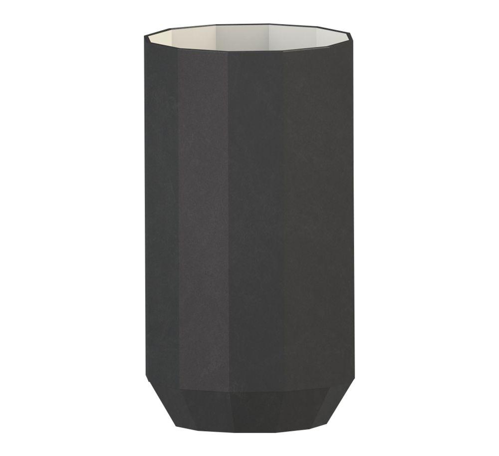 Edge vase 25 cm sort Cooee Design