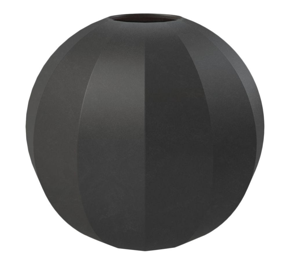 Edge Ball vase 15 cm sort Cooee Design